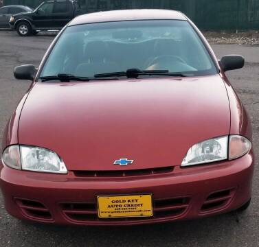 2001 Chevrolet Cavalier for sale at G.K.A.C. Car Lot in Twin Falls ID