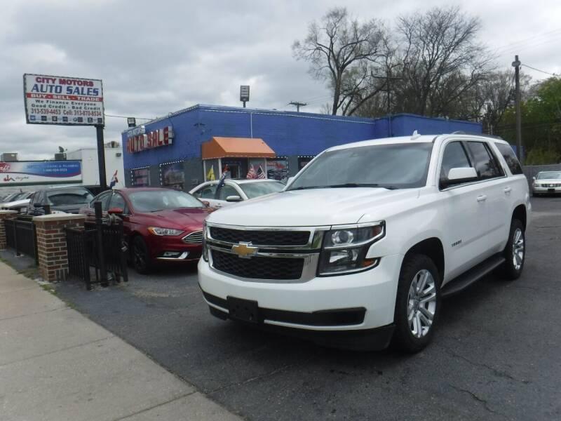 2015 Chevrolet Tahoe for sale at City Motors Auto Sale LLC in Redford MI