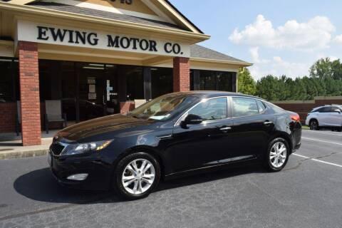 2013 Kia Optima for sale at Ewing Motor Company in Buford GA