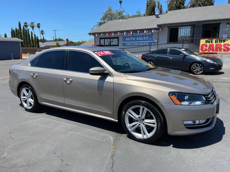 2015 Volkswagen Passat for sale at Blue Diamond Auto Sales in Ceres CA