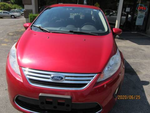 2012 Ford Fiesta for sale at Mid - Way Auto Sales INC in Montgomery NY