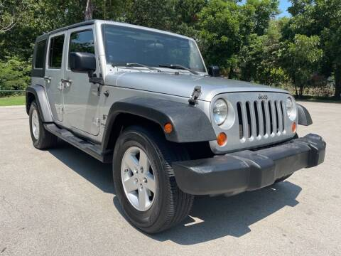 2008 Jeep Wrangler Unlimited for sale at Thornhill Motor Company in Hudson Oaks, TX
