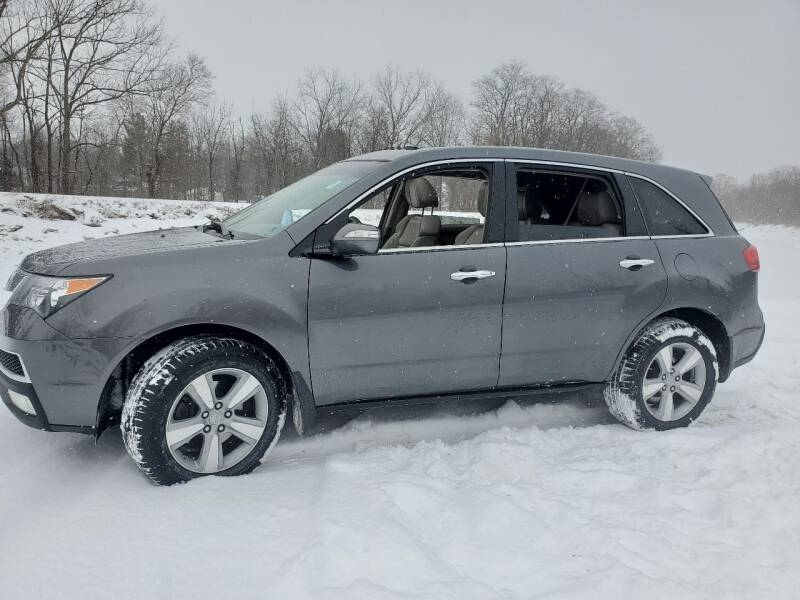 2010 Acura MDX for sale at Auto Link Inc in Spencerport NY