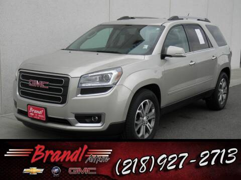 2015 GMC Acadia for sale at Brandl GM in Aitkin MN