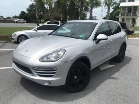 2012 Porsche Cayenne for sale at Gulf Financial Solutions Inc DBA GFS Autos in Panama City Beach FL