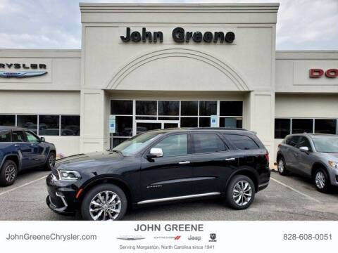 2021 Dodge Durango for sale at John Greene Chrysler Dodge Jeep Ram in Morganton NC