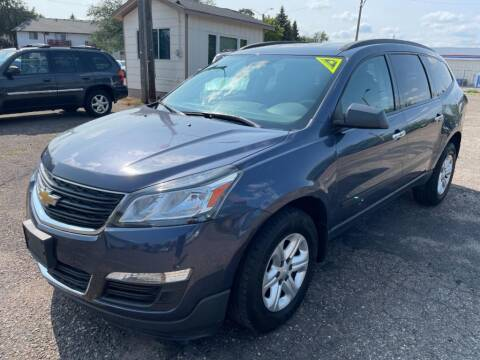 2013 Chevrolet Traverse for sale at CHRISTIAN AUTO SALES in Anoka MN