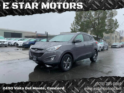 2014 Hyundai Tucson for sale at E STAR MOTORS in Concord CA
