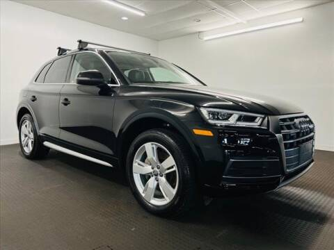 2018 Audi Q5 for sale at Champagne Motor Car Company in Willimantic CT