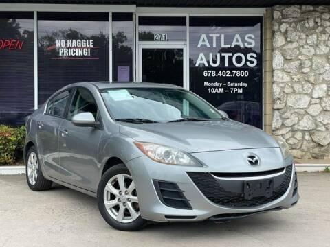 2010 Mazda MAZDA3 for sale at ATLAS AUTOS in Marietta GA