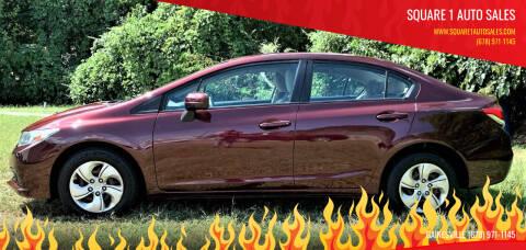 2014 Honda Civic for sale at Square 1 Auto Sales in Commerce GA