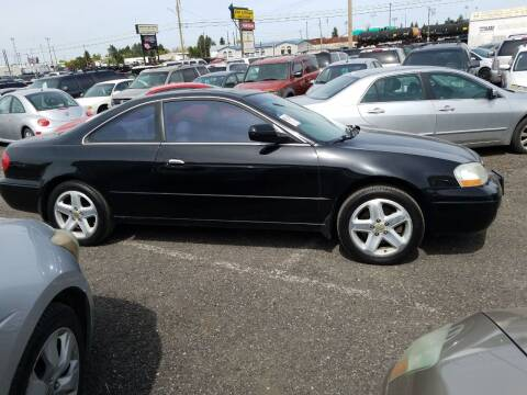2001 Acura CL for sale at 2 Way Auto Sales in Spokane Valley WA