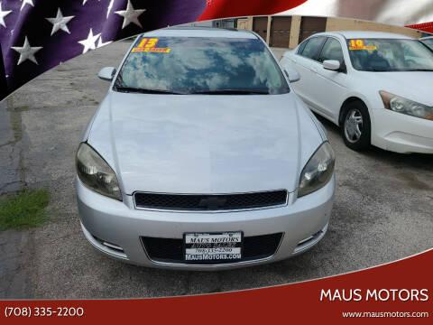 2013 Chevrolet Impala for sale at MAUS MOTORS in Hazel Crest IL