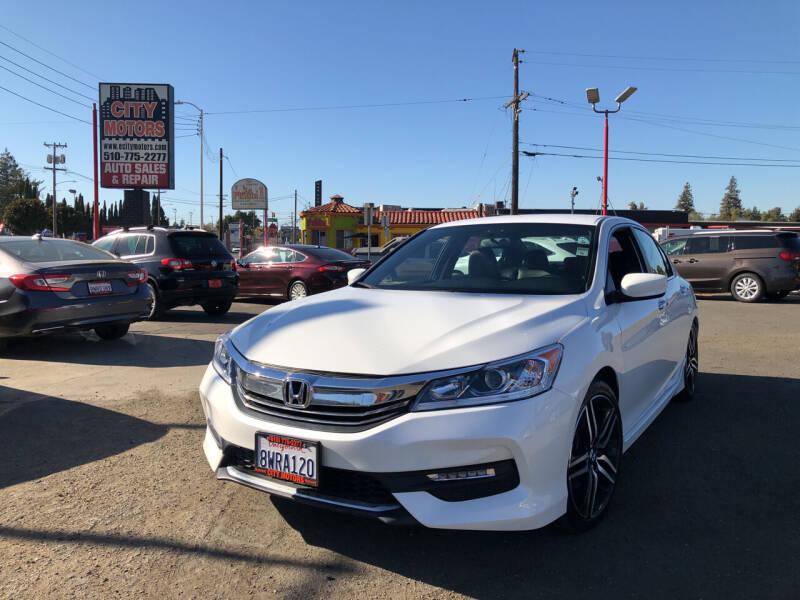 2017 Honda Accord for sale at City Motors in Hayward CA