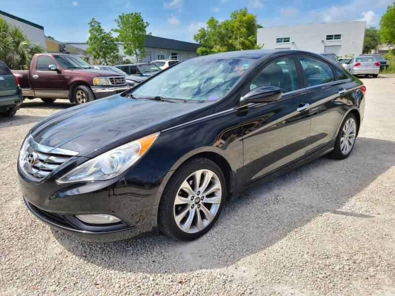2012 Hyundai Sonata for sale at CAR-RIGHT AUTO SALES INC in Naples FL