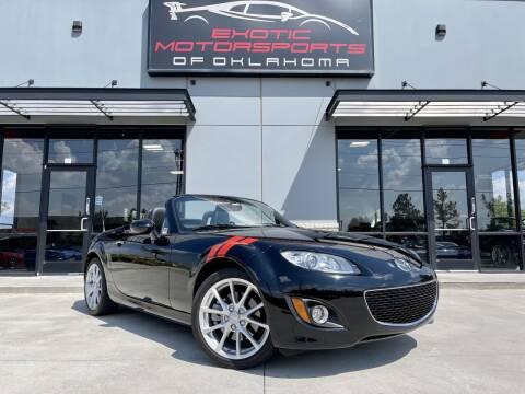 2012 Mazda MX-5 Miata for sale at Exotic Motorsports of Oklahoma in Edmond OK