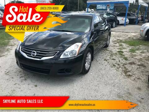 2010 Nissan Altima for sale at SKYLINE AUTO SALES LLC in Winter Haven FL