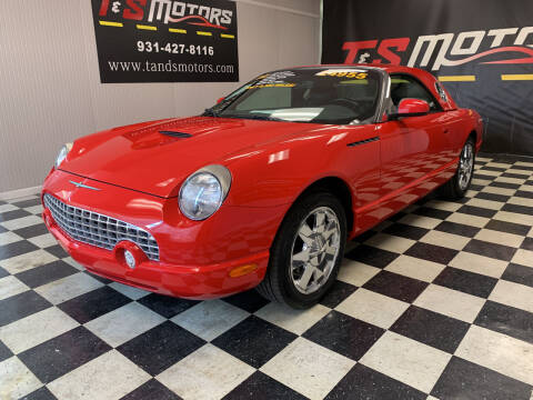 2002 Ford Thunderbird for sale at T & S Motors in Ardmore TN