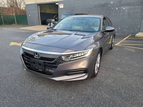 2018 Honda Accord for sale at AW Auto & Truck Wholesalers  Inc. in Hasbrouck Heights NJ