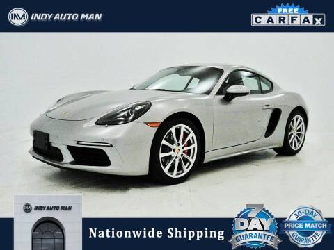 2018 Porsche 718 Cayman for sale at INDY AUTO MAN in Indianapolis IN