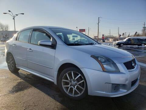 2007 Nissan Sentra for sale at speedy auto sales in Indianapolis IN
