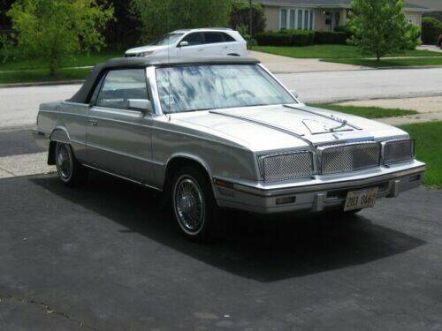 1985 Chrysler Le Baron for sale at Classic Car Deals in Cadillac MI