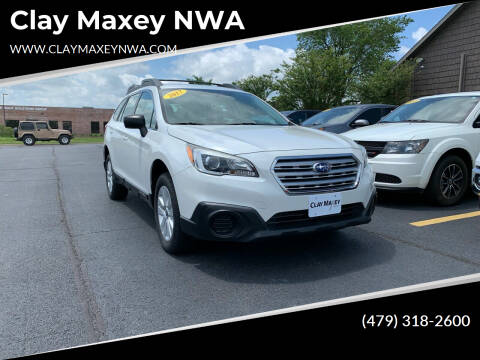 2017 Subaru Outback for sale at Clay Maxey NWA in Springdale AR