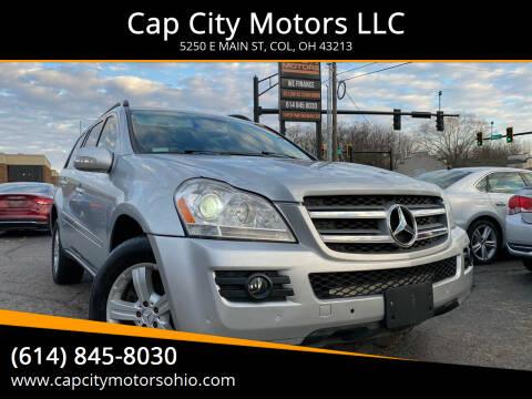2007 Mercedes-Benz GL-Class for sale at Cap City Motors LLC in Columbus OH