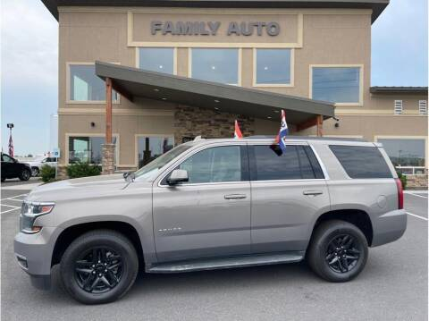 2017 Chevrolet Tahoe for sale at Moses Lake Family Auto Center in Moses Lake WA