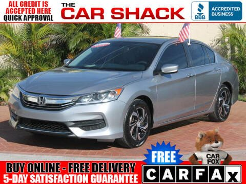 2017 Honda Accord for sale at The Car Shack in Hialeah FL