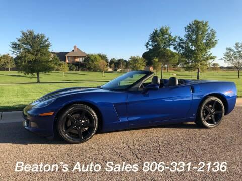 2006 Chevrolet Corvette for sale at Beaton's Auto Sales in Amarillo TX