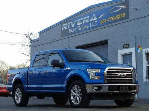 2015 Ford F-150 for sale at Rivera Auto Sales LLC in Saint Paul MN
