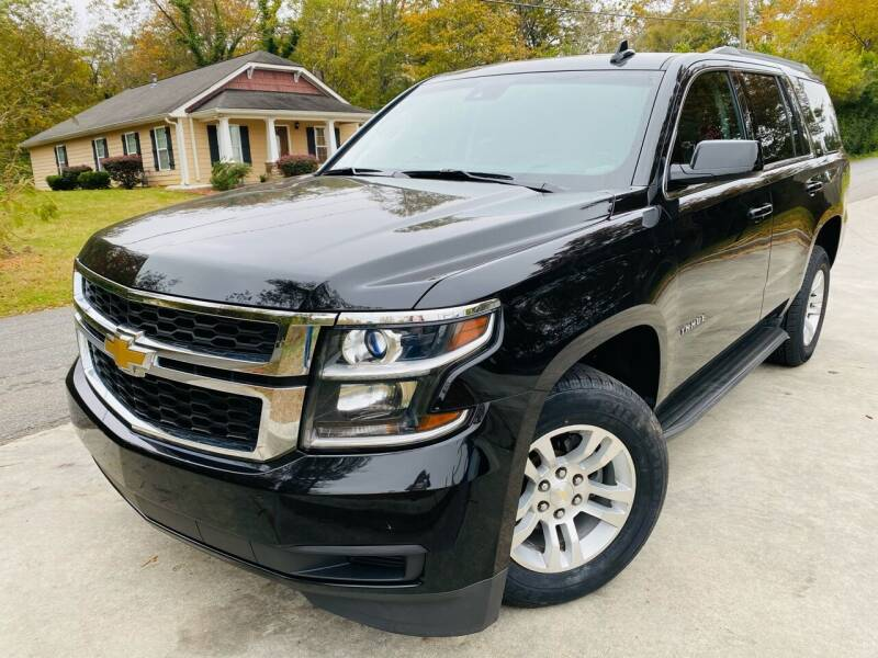 2017 Chevrolet Tahoe for sale at Cobb Luxury Cars in Marietta GA