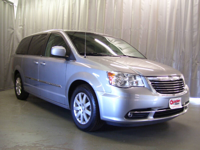2014 Chrysler Town and Country for sale at QUADEN MOTORS INC in Nashotah WI
