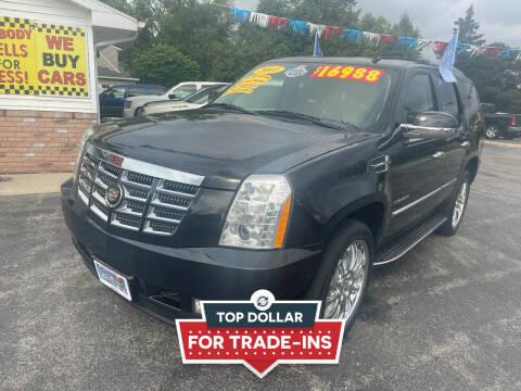 2011 Cadillac Escalade for sale at Excel Auto Sales LLC in Kawkawlin MI