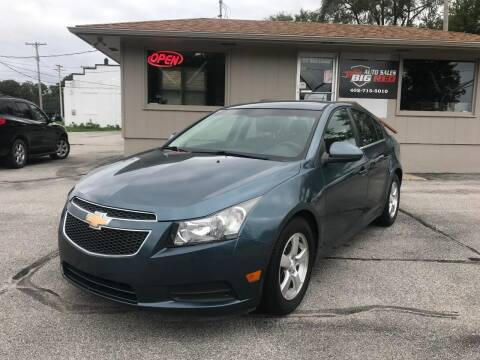 2012 Chevrolet Cruze for sale at Big Red Auto Sales in Papillion NE