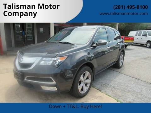 2013 Acura MDX for sale at Don Jacobson Automobiles in Houston TX