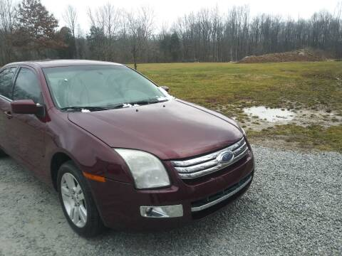2007 Ford Fusion for sale at Doyle's Auto Sales and Service in North Vernon IN