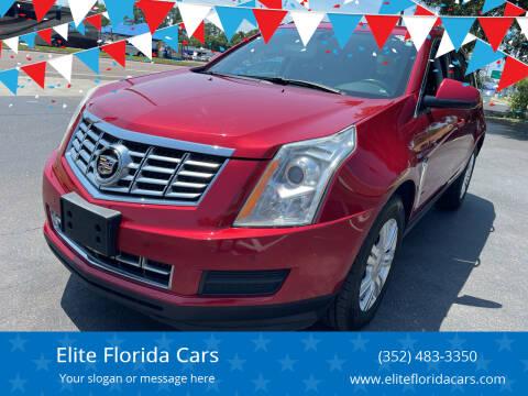 2013 Cadillac SRX for sale at Elite Florida Cars in Tavares FL