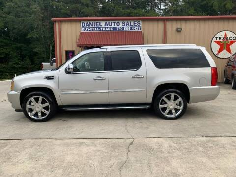 2014 Cadillac Escalade ESV for sale at Daniel Used Auto Sales in Dallas GA