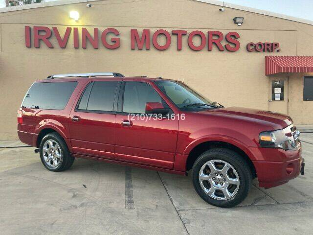 2013 Ford Expedition EL for sale at Irving Motors Corp in San Antonio TX