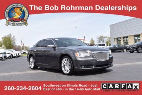 2013 Chrysler 300 for sale at BOB ROHRMAN FORT WAYNE TOYOTA in Fort Wayne IN
