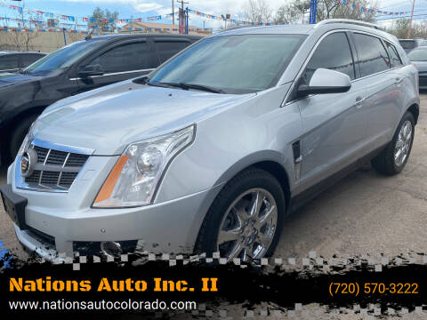 2010 Cadillac SRX for sale at Nations Auto Inc. II in Denver CO