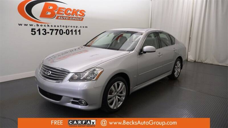 2010 Infiniti M35 for sale at Becks Auto Group in Mason OH