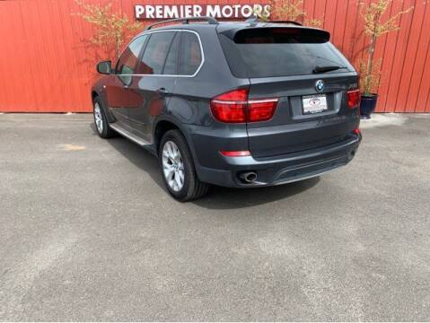 2013 BMW X5 for sale at PREMIERMOTORS  INC. in Milton Freewater OR