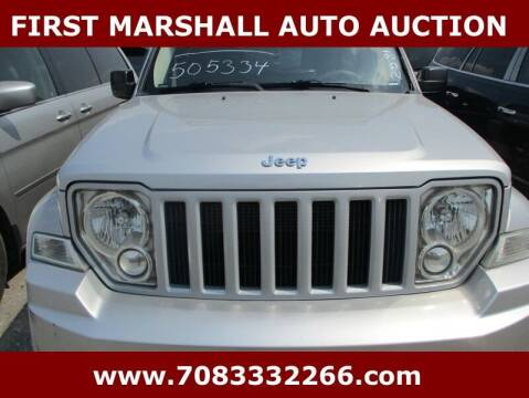 2011 Jeep Liberty for sale at First Marshall Auto Auction in Harvey IL