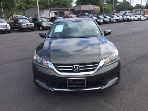 2015 Honda Accord for sale at Beckham's Used Cars in Milledgeville GA