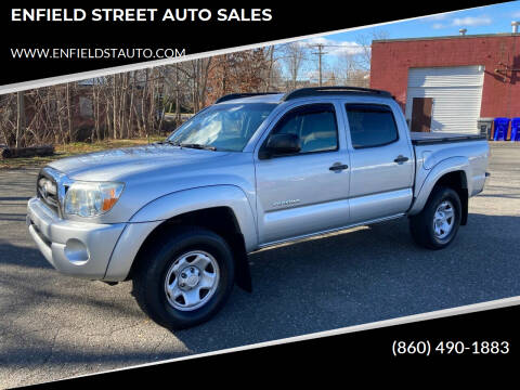 2010 Toyota Tacoma for sale at ENFIELD STREET AUTO SALES in Enfield CT
