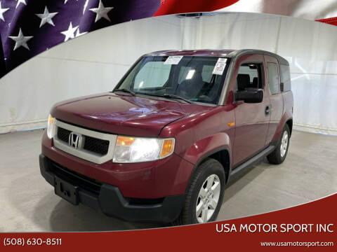 2011 Honda Element for sale at USA Motor Sport inc in Marlborough MA
