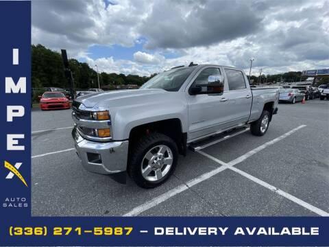 2018 Chevrolet Silverado 2500HD for sale at Impex Auto Sales in Greensboro NC